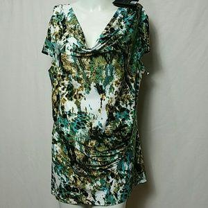 Milano Women New Large Sleeveless Blouse